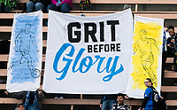 Seattle, WA - Saturday March 24, 2018: Banner during a regular season National Women's Soccer League (NWSL) match between the Seattle Reign FC and the Washington Spirit at the UW Medicine Pitch at Memorial Stadium.