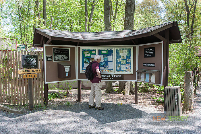 Interpretive Board, The Raptor Trust, New Jersey