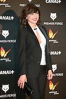 Marian Alvarez attends the Feroz Cinema Awards 2015 at Las Ventas, Madrid,  Spain. January 25, 2015.(ALTERPHOTOS/)Carlos Dafonte) /NortePhoto<br /> <br /> nortePhoto.com