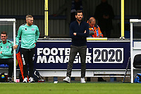 Rochdale manager Brian Barry-Murphy during AFC Wimbledon vs Rochdale, Sky Bet EFL League 1 Football at the Cherry Red Records Stadium on 5th October 2019