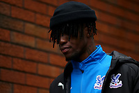 23rd November 2019; Selhurst Park, London, England; English Premier League Football, Crystal Palace versus Liverpool; Wilfried Zaha of Crystal Palace - Strictly Editorial Use Only. No use with unauthorized audio, video, data, fixture lists, club/league logos or 'live' services. Online in-match use limited to 120 images, no video emulation. No use in betting, games or single club/league/player publications