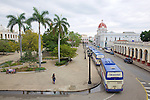 View From Palacio Ferrer Of Plaza De Armas