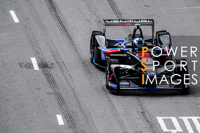 Maro Engel of Venturi Formula E team during the first stop of the FIA Formula E Championship HKT Hong Kong ePrix at the Central Harbourfront Circuit on 9 October 2016, in Hong Kong, China. Photo by Marcio Rodrigo Machado / Power Sport Images