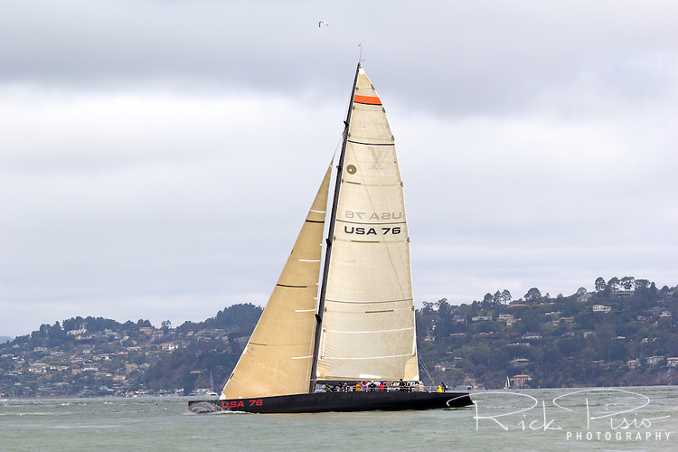 USA 76 was used by Oracle Racing in its preparations to win the challenger series and the right to challenge for the 2007 America's Cup held in Valencia, Spain. It was launched on July 4, 2002.