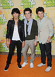 The Jonas Brothers arriving at the 2009 Kids Choice Awards held at UCLA's Pauley Pavilion Westwood, Ca. March 28, 2009. Fitzroy Barrett