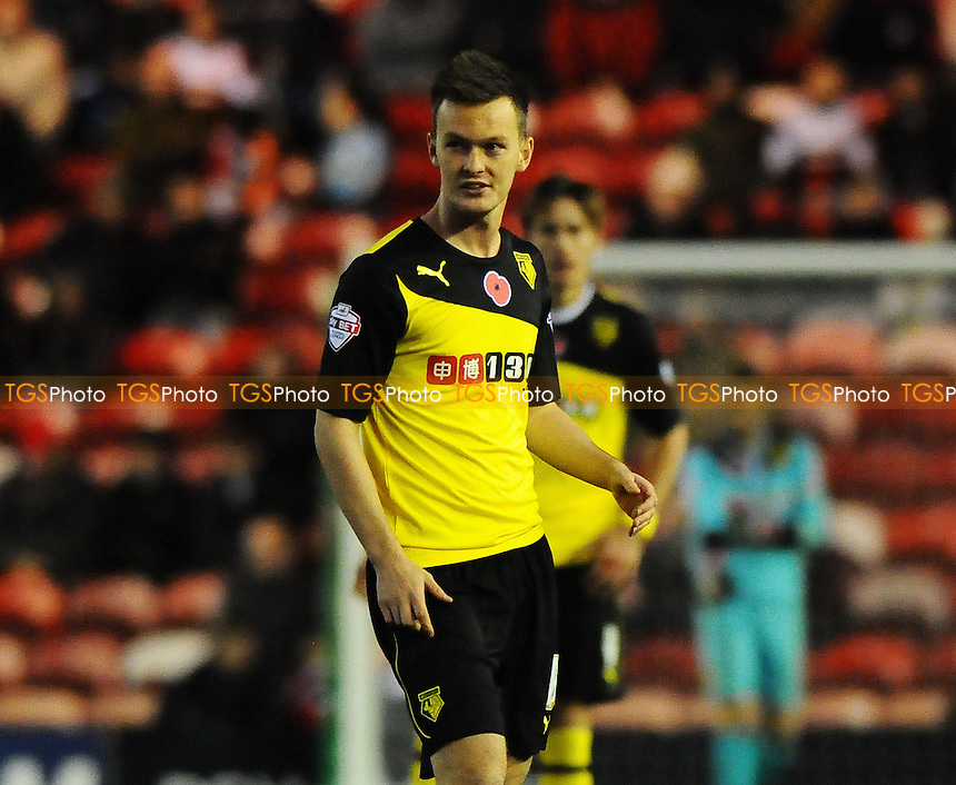 Josh McEachran of Watford - Middlesbrough vs Watford - Sky Bet Championship Football at the Riverside Stadium, Middlesbrough - 09/11/13 - MANDATORY CREDIT: Steven White/TGSPHOTO - Self billing applies where appropriate - 0845 094 6026 - contact@tgsphoto.co.uk - NO UNPAID USE