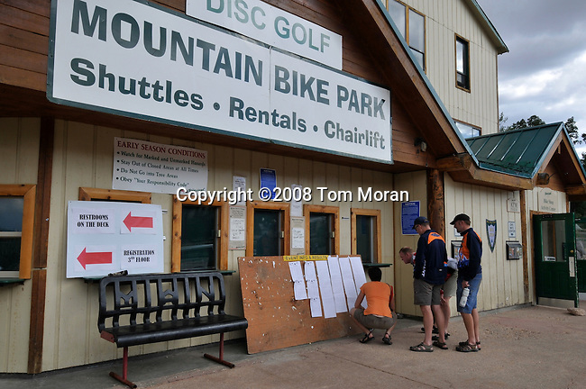 American Mountain Classic, Brian Head, Utah.24 August 2008.Stage 3- Dark Hollow.Photo by Tom Moran.tom-moran@earthlink.net