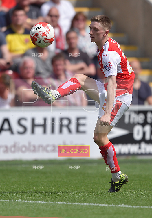 08/05/2016 Sky Bet League 1 Fleetwood Town v <br /> Crewe Alexandra<br /> Ashley Hunter