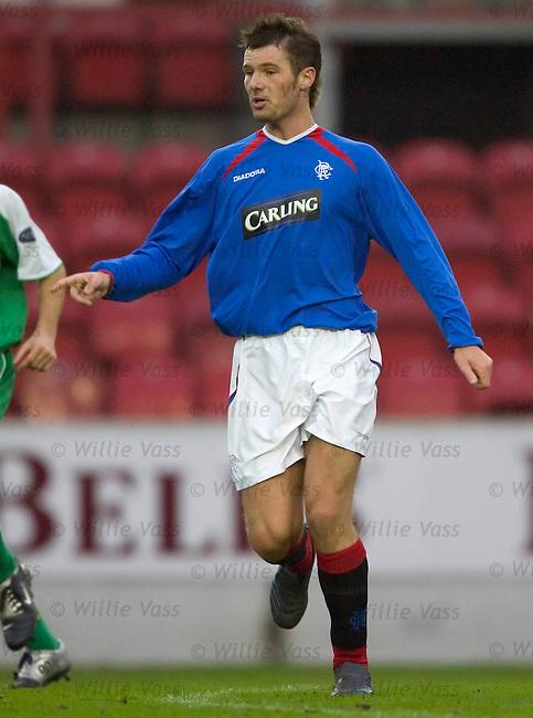 Alex Walker, Rangers.stock season 2004-2005.pic willie vass