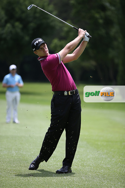 Tom Lewis (ENG) became a contender for the lead with a -4 (-8) card during Round Two at the SA Open Championship 2013 at the Glendower Golf Club, Ekurhuleni, Johannesburg, South Africa. Picture:  David Lloyd / www.golffile.ie