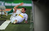 FUSSBALL   1. BUNDESLIGA    SAISON 2012/2013    9. Spieltag   Hannover 96 - Borussia Moenchengladbach         28.10.2012 Martin Stranzl  (Borussia Moenchengladbach) enttaeuscht