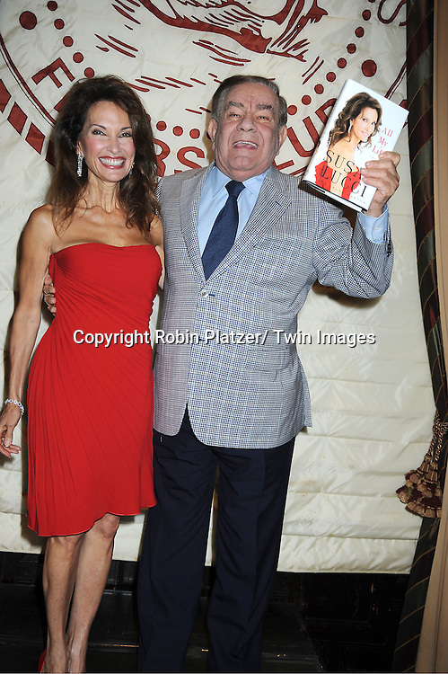 "Susan Lucci  and Freddie Roman at her book signing for her new book ""All My Life""  at The Friars Club in New York City on September 7, 2011."