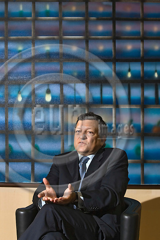 BRUSSELS - BELGIUM - 31 MAY 2007 -- Jose Manuel BARROSO, the President of the European Commission during an interview. -- PHOTO: JUHA ROININEN / EUP-IMAGES
