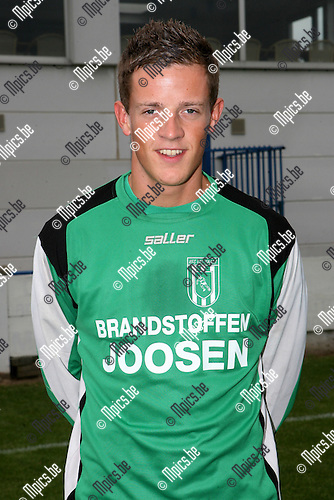 2008-08-02 / Voetbal / Seizoen 2008-2009 / FC Exc Kaart / Bart Hendrickx..Foto: Maarten Straetemans (SMB)