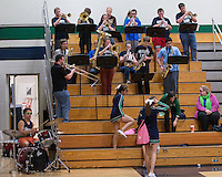 Marquette vs Mehlville 2-21-14 Fleming Pep Band