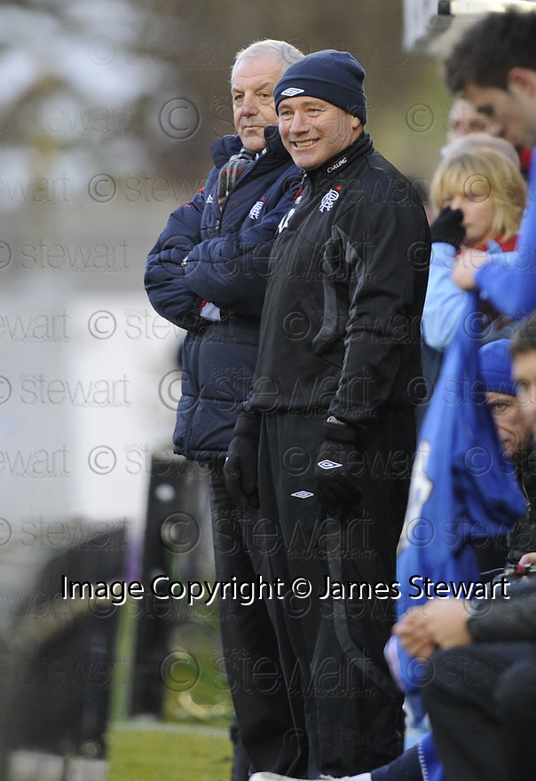 16/01/2010  Copyright  Pic : James Stewart.sct_jspa_24_hamilton_v_rangers  .:: RANGERS ASSISTANT MANAGER ALLY MCCOIST CAN AFFORD TO SMILE AFTER NACHO NOVO SCORES THE WINNER ::.James Stewart Photography 19 Carronlea Drive, Falkirk. FK2 8DN      Vat Reg No. 607 6932 25.Telephone      : +44 (0)1324 570291 .Mobile              : +44 (0)7721 416997.E-mail  :  jim@jspa.co.uk.If you require further information then contact Jim Stewart on any of the numbers above.........