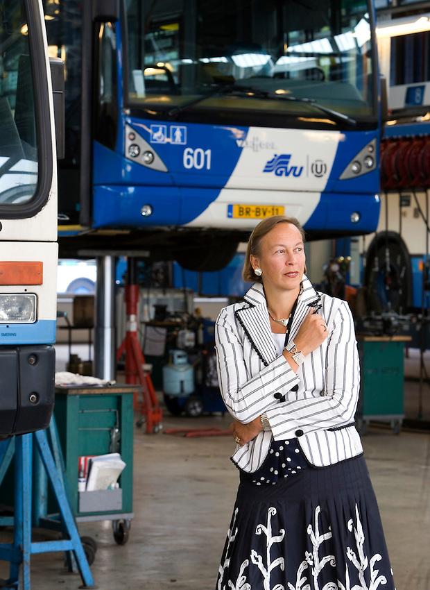 GVU directrice Roos van Erp. © foto Michael Kooren. Utrecht