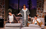 """ATWT Colleen Zenk and Brenda Withers and Davy Raphaely star in """"Other Desert Cities"""" at the tech rehearsal (in costume) on October 14, 2015 at Whippoorwill Halll Theatre, North Castle Library, Kent Place, Armonk, New York.  (Photo by Sue Coflin/Max Photos)"""