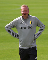 20200627 - TUBIZE , Belgium : Team manager Bram Demeur is pictured during a training session of the Belgian Red Flames U17, on the 27 th of June 2020 in Tubize.  PHOTO SEVIL OKTEM| SPORTPIX.BE