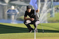 Ross Fisher (ENG) at the 18th green during Thursday's Round 1 of the 2018 Turkish Airlines Open hosted by Regnum Carya Golf &amp; Spa Resort, Antalya, Turkey. 1st November 2018.<br /> Picture: Eoin Clarke | Golffile<br /> <br /> <br /> All photos usage must carry mandatory copyright credit (&copy; Golffile | Eoin Clarke)