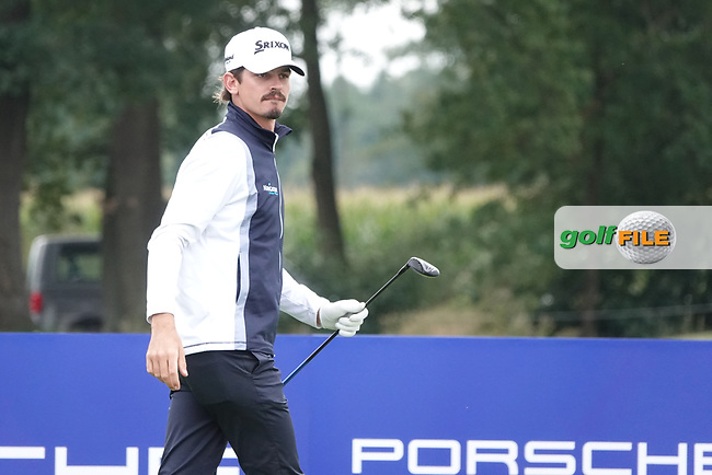 Pedro Figueiredo (POR) during the third round of the Porsche European Open , Green Eagle Golf Club, Hamburg, Germany. 07/09/2019<br /> Picture: Golffile | Phil Inglis<br /> <br /> <br /> All photo usage must carry mandatory copyright credit (© Golffile | Phil Inglis)