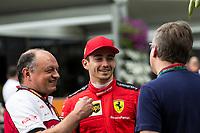 12th March 2020; Melbourne Grand Prix Circuit, Melbourne, Victoria, Australia; Formula One, Australian Grand Prix, Practice Day; Scuderia Ferrari driver Charles Leclerc