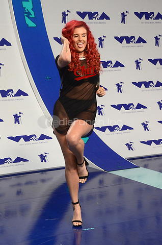 INGLEWOOD, CA - AUGUST 27: Justina Valentine at the 2017 MTV Video Music Awards At The Forum in Inglewood, California on August 27, 2017. Credit: David Edwards/MediaPunch