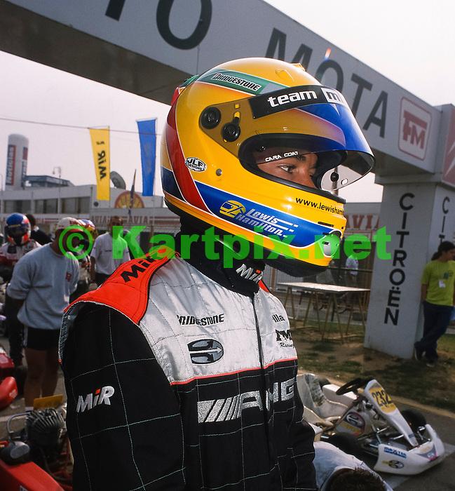 Lewis Hamilton Braga 2000