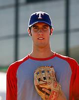 Nick McBride - AZL Rangers (2009 Arizona League) .Photo by:  Bill Mitchell/Four Seam Images..