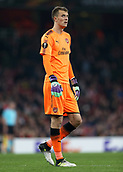 2nd November 2017, Emirates Stadium, London, England; UEFA Europa League group stage, Arsenal versus Red Star Belgrade; Goalkeeper Matt Macey of Arsenal looking on to the action in front of him