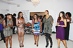 """One Life To Live's Shennell Edmonds, Kearran Giovanni and Shenaz Treasury join with Delaina Dixon, Editor-In Chief """"TV DivaGal of DivaGalsDaily.com and Maureen at Let's Celebrate - The Diva Gals Style Lounge on October 5, 2011 at Select Strands, New York City, New York. DivaGalsDaily.com is the premier website inspiring DivaGals around the globe to celebrate evry living moment in a savvy, sophisticated and social way.  (Photo by Sue Coflin/Max Photos)"""