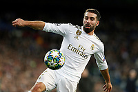Real Madrid CF's Dani Carvajal seen in action during UEFA Champions League match, groups between Real Madrid and Galatasaray SK at Santiago Bernabeu Stadium in Madrid, Spain. November, Wednesday 06, 2019.(ALTERPHOTOS/Manu R.B.)<br /> Champions League 2019/2020  <br /> Real Madrid - Galatasaray<br /> Foto Alterphotos / Insidefoto <br /> ITALY ONLY