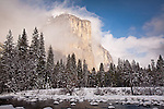 El Capitan over the Merced River, Yosemite National Park, CA