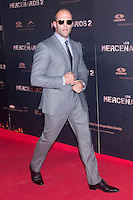 08.08.2012. Premier at the Callao Cinema in Madrid of the film &acute;The Expendables 2&acute;. Directed by Simon West and starring by  Bruce Willis, Jean-Claude Van Damme , Sylvester Stallone, Jason Statham, Jet Li, Dolph Lundgren, Randy Couture, Terry Crews and Liam Hemsworth. In the image Jason Statham (Alterphotos/Marta Gonzalez) NortePhoto.com<br />