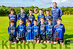 The Killorglin team that played Kenmare in the u13 league in Killorglin on saturday, front row l-r: tom Whittleton, Daniel evans, Mikey O;Donnell, Dylan Moriartyu, keith evans, darragyh callan, Jason o'connor, Eoin Hassett, and aidan Flynn mascot. Back row: Adam Owens, Mark clifford, Callum Moriarty, Jack Mcgillicuddy, Callum Russell, Jake Reen Stierna, Cillian Burke and Robert Evans