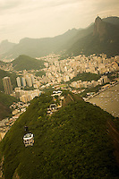 View of Rio, including Corcovado, from Sugar Loaf Mountain (Pão de Açúcar), Rio de Janeiro, Brazil, South America, 2007, © Stephen Blake Farrington