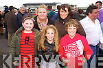 Rachel and Marguerite Horgan with Katie, Kathleen and Darragh Reidy (Kilmorna, Listowel) pictured at Listowel races on Sunday last.