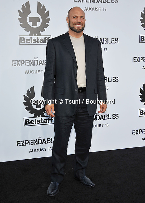 Randy Couture<br /> The Expendable Exclusive World Sneek Preview at the Chinese Theatre in Los Angeles.