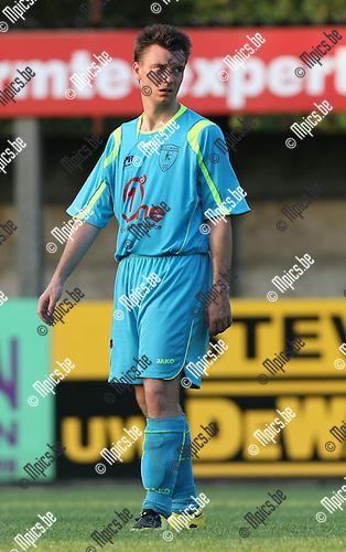 2009-08-06 / Voetbal / seizoen 2009-2010 / KFCO Wilrijk / Dimitri Delcour..Foto: Maarten Straetemans (SMB)