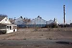 Derelict factory, Crane, Ipswich, Suffolk