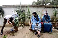 AIN DRAHAM, TUNISIA - 22 SETTEMBRE: .Il progetto Base Nature Association Project, di Mohamed Aziz, sostenuto dal progetto MaTerre, che comprende escursioni, attività sportive e degustazioni culinarie.