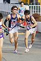 (L to R) Masato Kikuchi (Meiji-Univ), Ryo Ishima (Meiji-Univ), JANUARY 2, 2012 - Athletics : The 88th Hakone Ekiden Race Totsuka Relay place in Kanagawa, Japan. (Photo by Yusuke Nakanishi/AFLO SPORT) [1040]