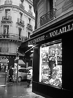 Butcher shop, Paris