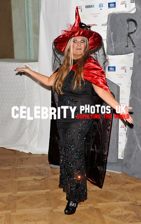 VANESSA FELTZ  at the bloodlust ball hampton court house ,hampton court road east molesey england 30/10/2010  BYLINE BIGPICTURESPHOTO.COM: 1870....USAGE OF THIS IMAGE OR COPY WRITTEN THAT IS BASED ON THE CAPTION, IS CONDITIONAL UPON THE ACCEPTANCE OF BIG PICTURES'S TERMS AND CONDITIONS, AVAILABLE AT WWW.BIGPICTURESPHOTO.COM