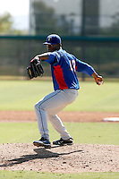 Carlos Melo - Texas Rangers 2009 Instructional League. .Photo by:  Bill Mitchell/Four Seam Images..