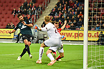 04.11.2018, Opel-Arena, Mainz, GER, 1 FBL, 1. FSV Mainz 05 vs SV Werder Bremen, <br /> <br /> DFL REGULATIONS PROHIBIT ANY USE OF PHOTOGRAPHS AS IMAGE SEQUENCES AND/OR QUASI-VIDEO.<br /> <br /> im Bild: Tor zum 1:2 durch Claudio Pizarro (Werder Bremen #04) nach Vorlage Johannes Eggestein (Werder Bremen #24) - das 194 tor von Claudio Pizarro (Werder Bremen #04)<br /> <br /> Foto © nordphoto / Fabisch