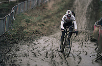 CX world champion Wout Van Aert (BEL/Crelan-Charles)<br /> <br /> Elite Men's Recon<br /> GP Sven Nys / Belgium 2018