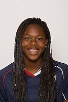 Hayley Brock. U-17 USA Women's National Team head shots on September 16, 2008. Photo by Howard C. Smith/isiphotos.com