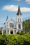 Our Lady Queen of Peace Church, Boothbay Harbor, Maine.