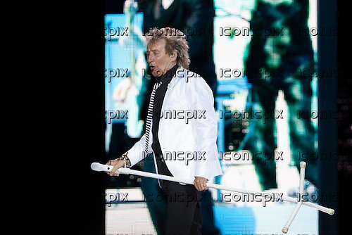 ROD STEWART- performing live on the Live The Life Tour concert at the O2 in London UK - 04 June 2013.  Photo credit: John Rahim/Music Pics Ltd/IconicPix